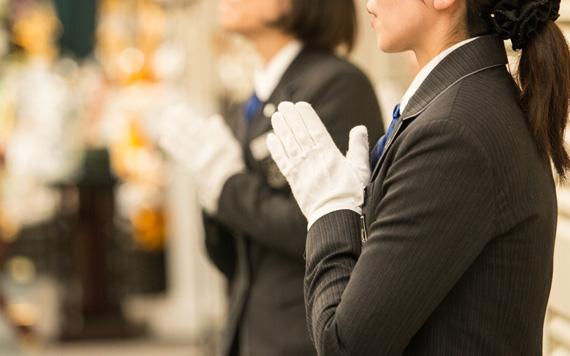 役所や火葬場などの各種事務手続きについては、スタッフが代行可能