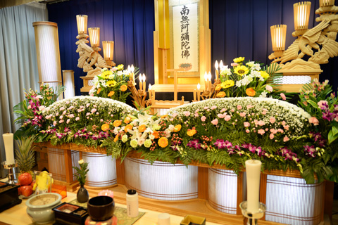 葬儀・お葬式の施行 写真